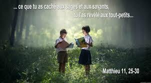 Je suis doux et humble de cœur - (Matthieu 11, 25-30)   Paroisse ...