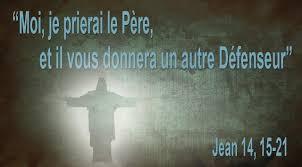 Moi, je prierai le Père, et il vous donnera un autre Défenseur ...