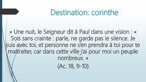 Paul et les corinthiens ii (2018 05-10)