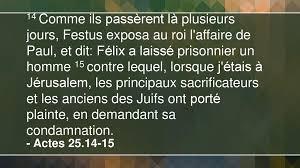 L'arrestation et l'emprisonnement de Paul – 3e partie - ppt ...