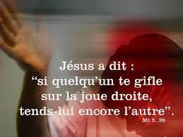 Évangile selon saint Matthieu chapitre 5, versets 38-42 ...