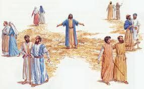 L'ENVOI EN MISSION DES APOTRES PAR JESUS - luciole