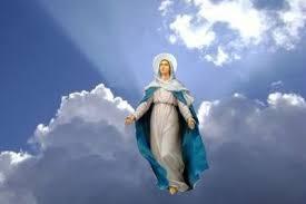 À l'Assomption, la Vierge Marie est aspirée dans le Ciel ...