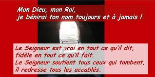 Psaume 144 (145), R/ Le Seigneur est... - Aumonerie Hôpital Martigues    Facebook