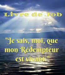 LECTURE DU LIVRE DE JOB (19, 21-27)... - La foi en Dieu : l'espérance en  Jésus-Christ le Seigneur   Facebook