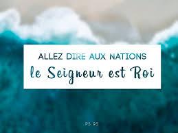 Allez dire aux nation Le Seigneur est Roi ! » #Avent2017Nîmes ➡️ Rdv demain  pour la suite du calendrier de l'Avent sur la page Pastorale Des Jeunes du  diocèse de Nîmes