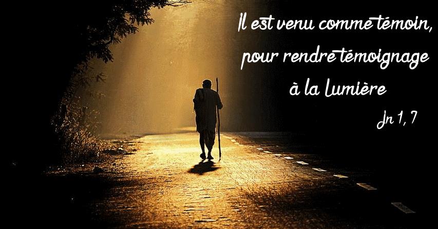 Paroisse Saint-Maxime d'Antony: En Avent avec saint Jean - 2è dimanche : le  témoignage