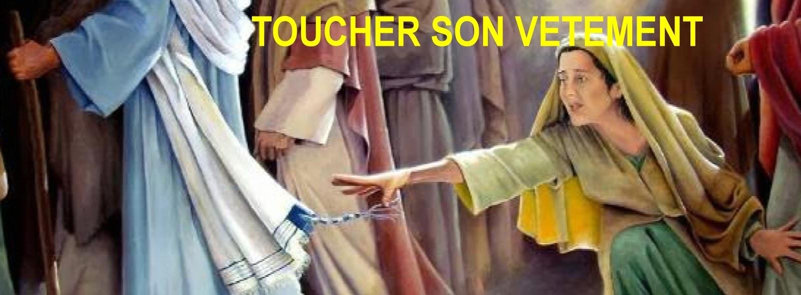 Eglise Evangélique Nice l'Ariane: TOUCHER SON VÊTEMENT 1/2